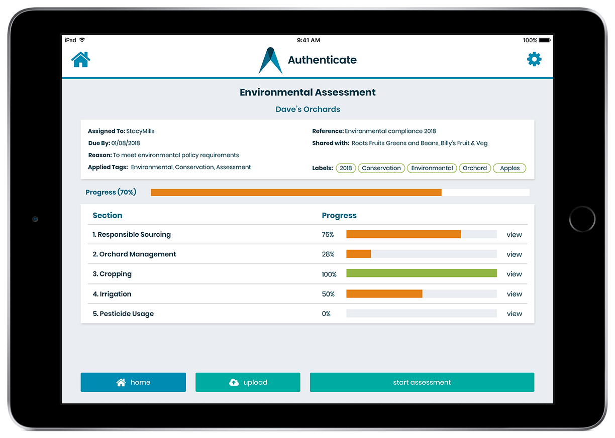 New assessments app makes iPad audits easy